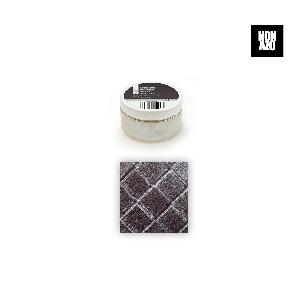 Silver Powder - Food Colorant - 25gr