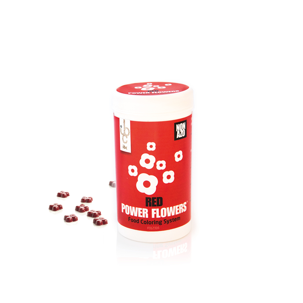 Power Flowers Classic Red - Food Colorants - 50pcs