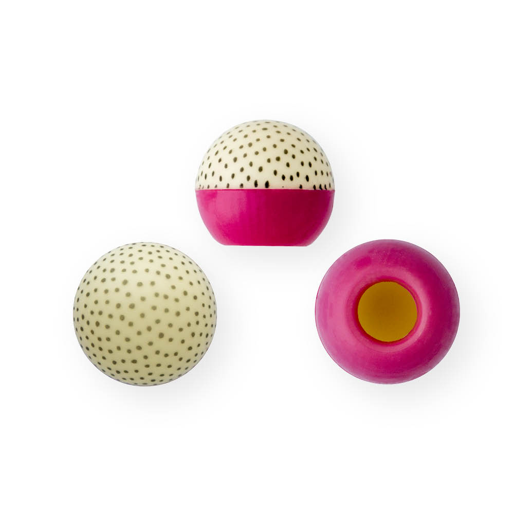 Dotted Pink - Chocolate Decorations - Truffle Shell - 63 pcs