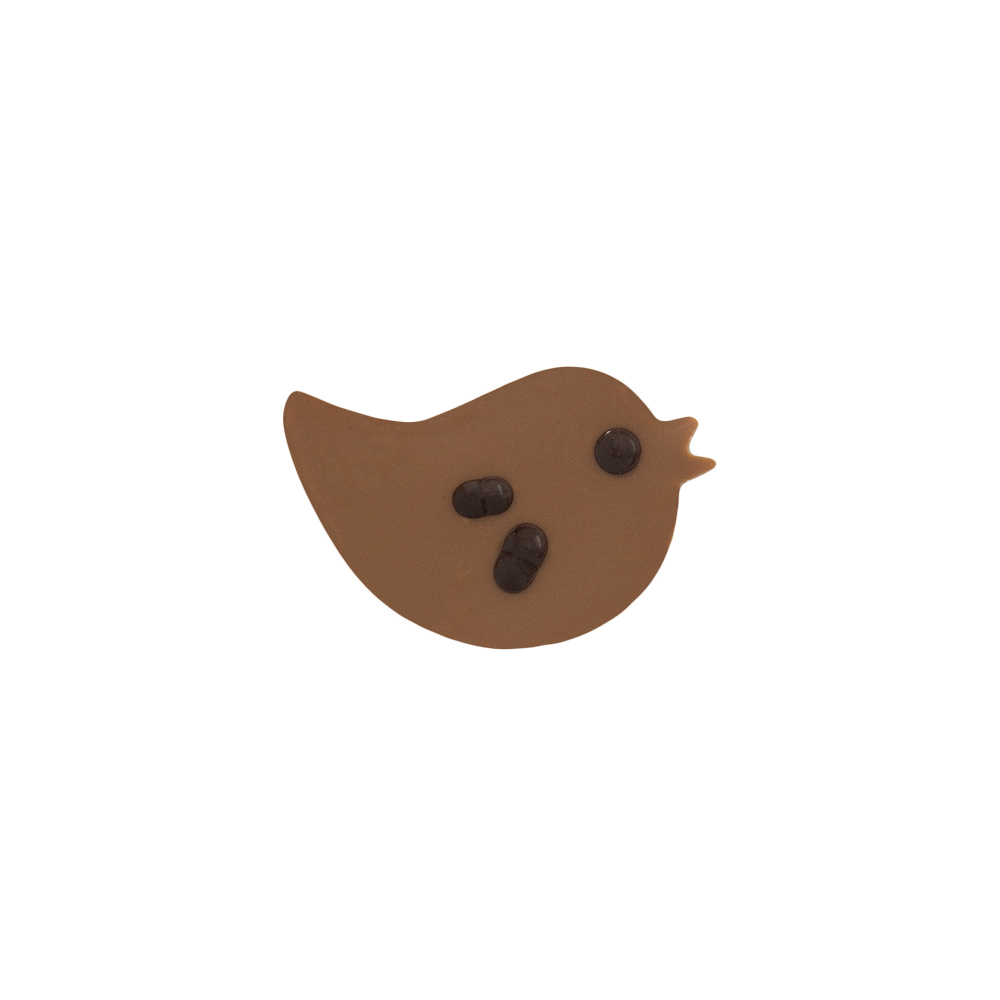 Original Bird - Chocolate Decorations - Bird Plaques - 196pcs