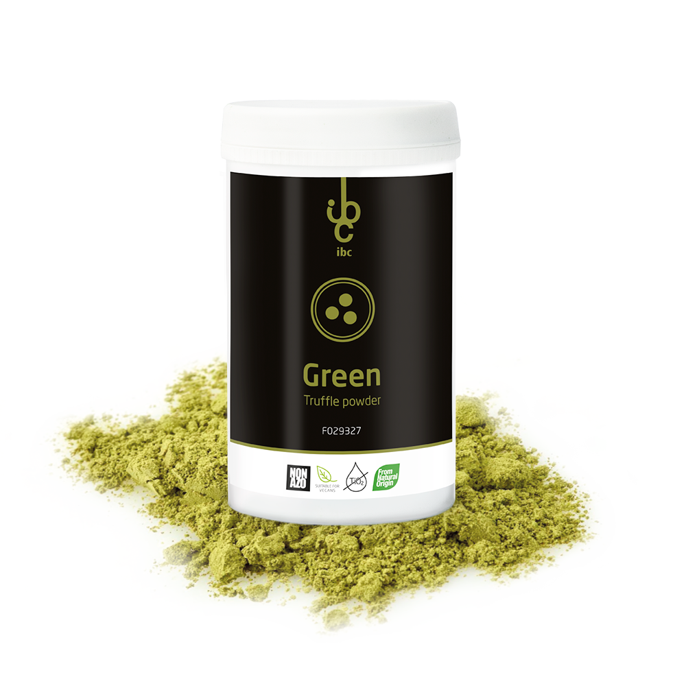Truffle Powder Green - Food Colorants - 250gr - From Natural Origin