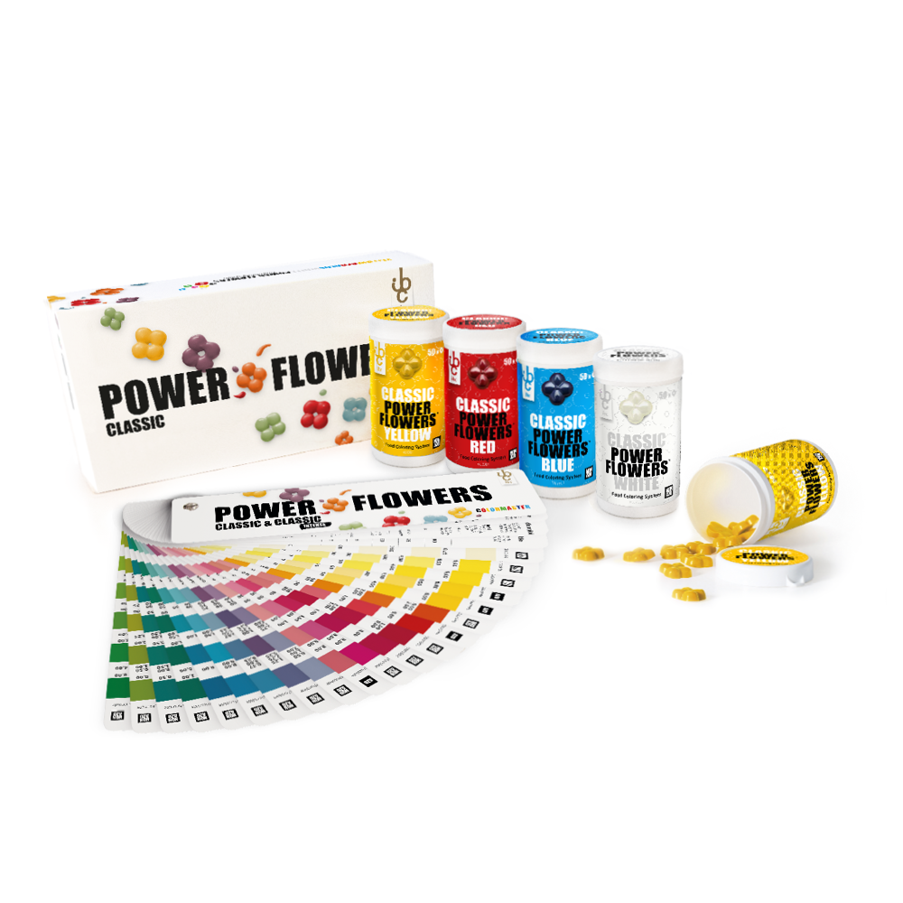 Power Flowers Discovery Box Classic - Food Colorants