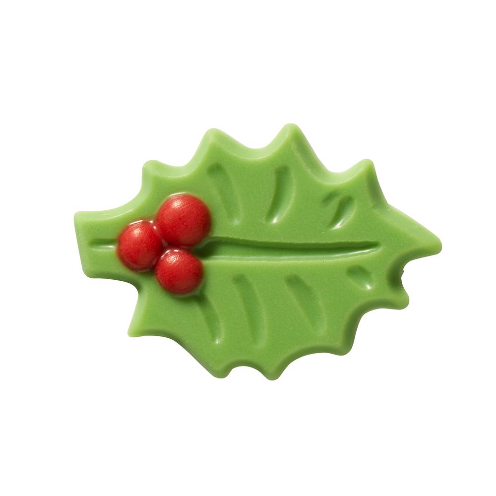 Christmas / Winter - Green Holly Leaf