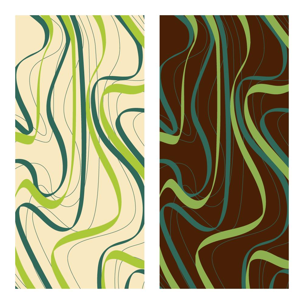 Transfer sheet - Transfer Sheets Green Waves