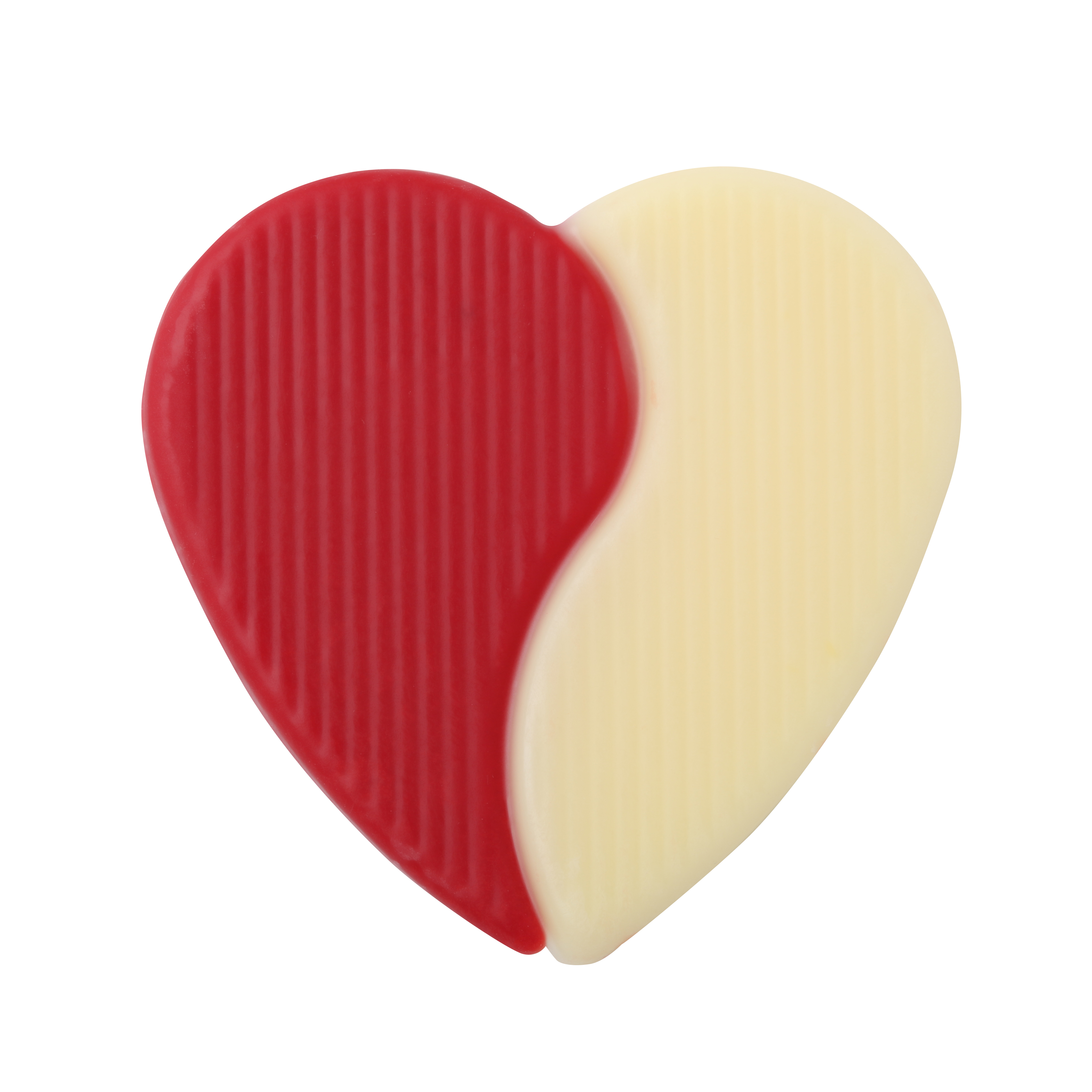 Signature decorations (Jura) - Red and Ivory Duo Heart