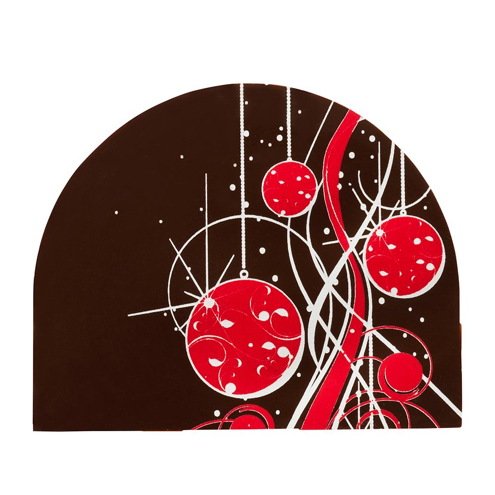 Kerstmis / Winter - Lara Log Plaque