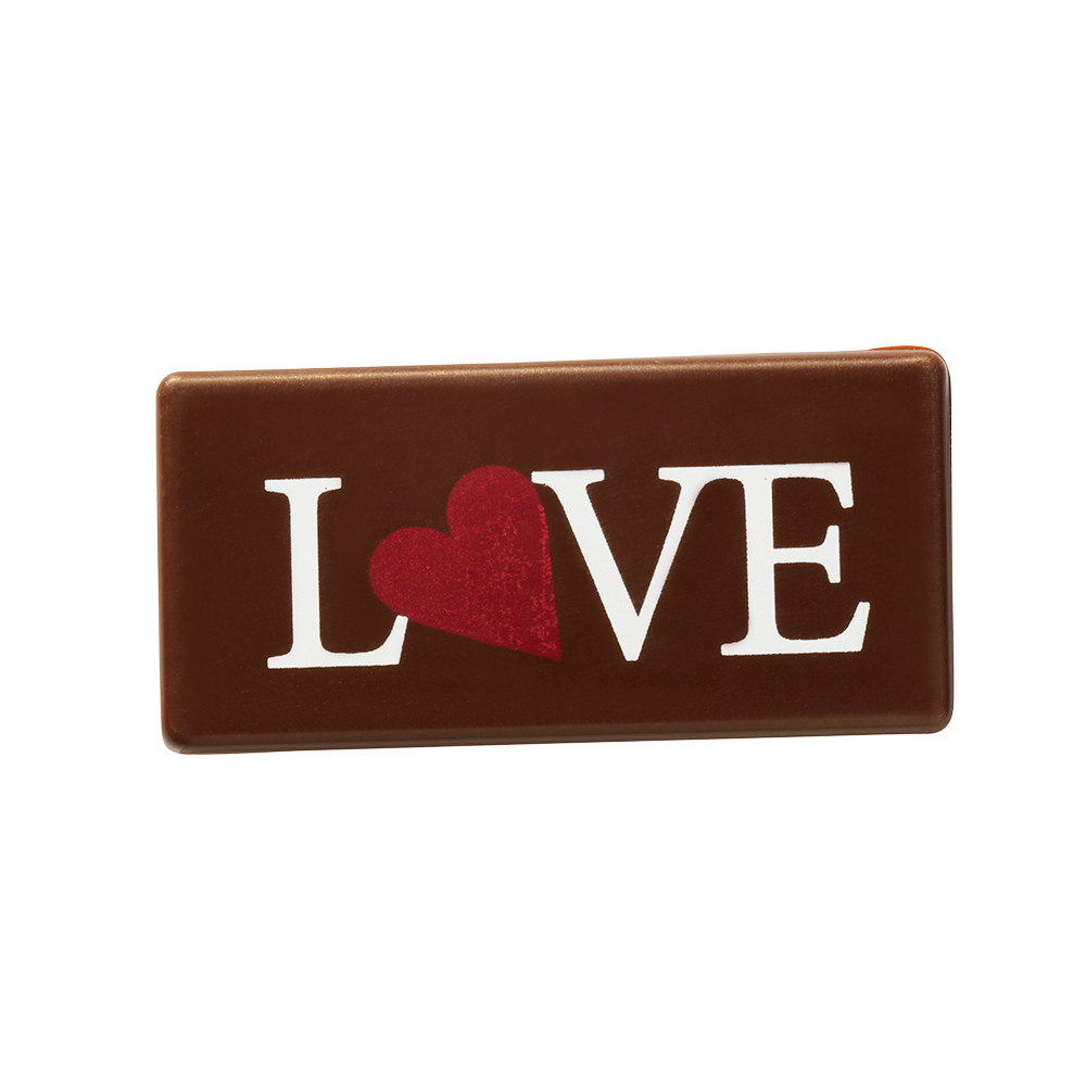 Liefde of Valentijn - Rectangle Love Plaques