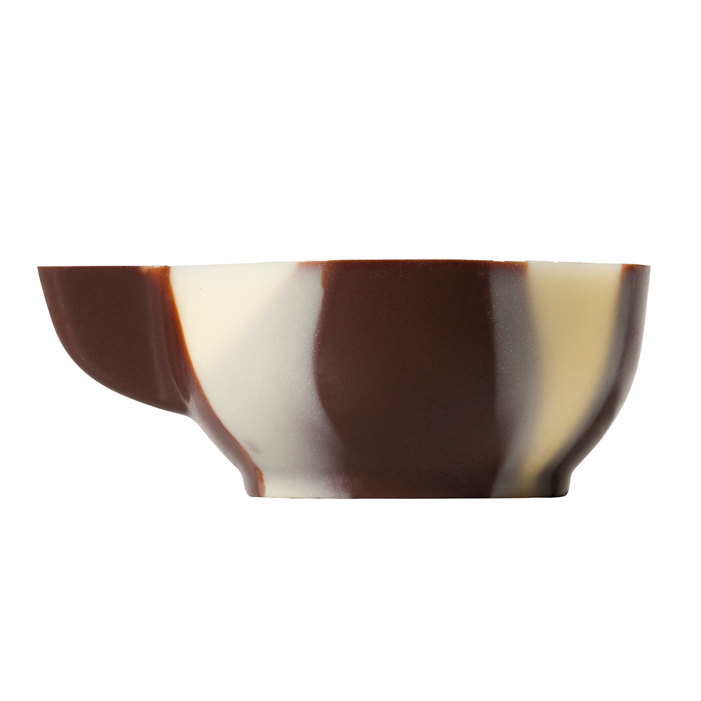 Marbled cups - Marbled Chocolate Espresso Cups