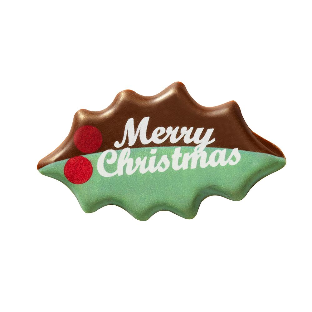 Christmas / Winter - Merry Christmas Leaf