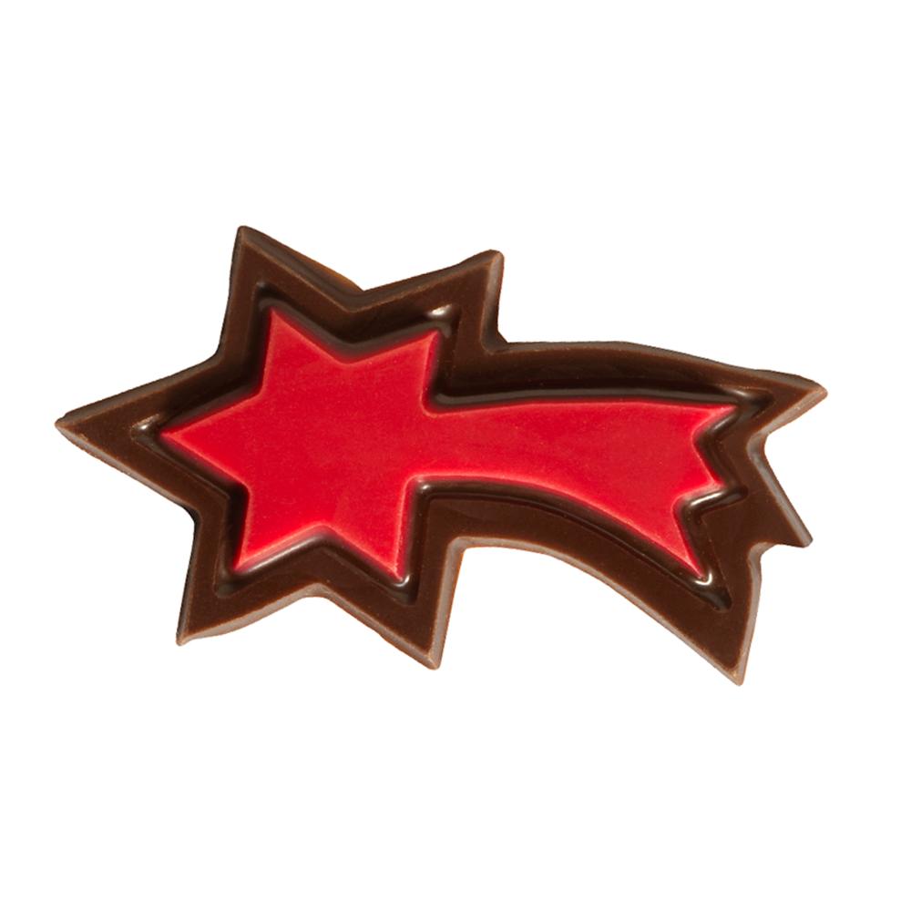 Kerstmis / Winter - Red Falling Stars