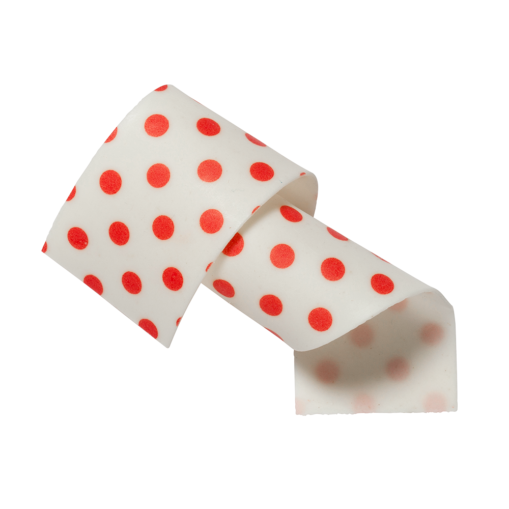 Rubans pour gâteaux - almond and sugar Red Dots Collars 50mm