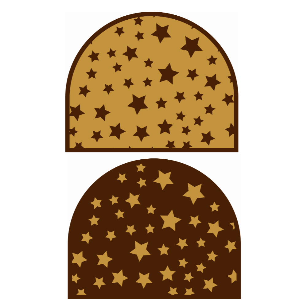 Kerstmis / Winter - STARRY LOG PLAQUES