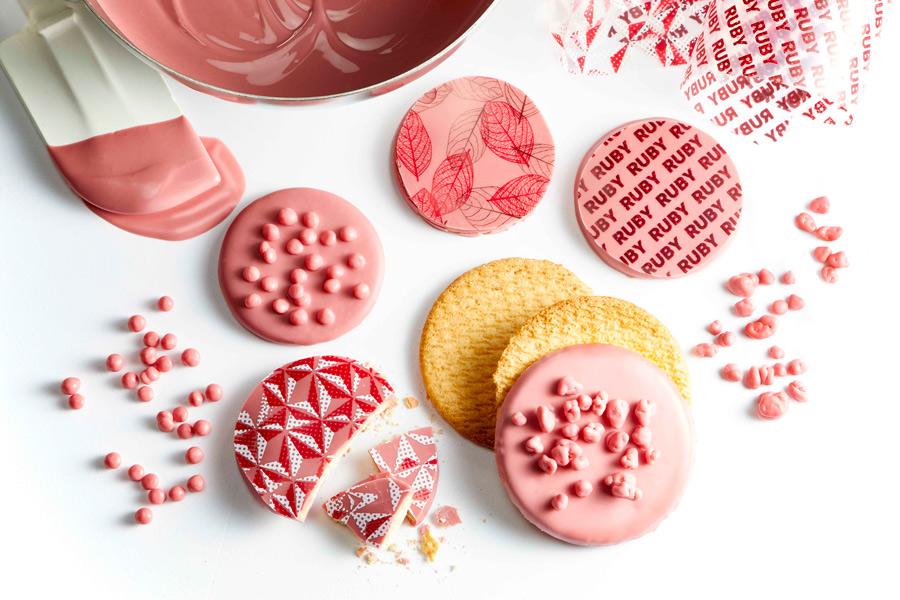 Crispy ruby cookies
