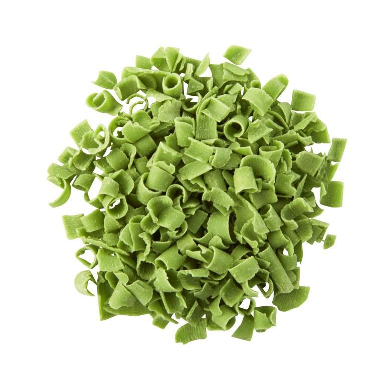 Blossoms - Natural Light Green Décor Curls